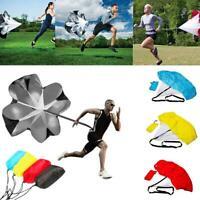 Kids Training Umbrella Soccer Running Exerciser Resistance bands drag parachutes