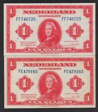 Niederlande 2 x 1 Gulden 1943