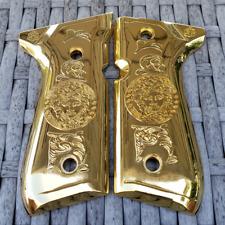 Beretta 92F Metal Grips Beretta 92F, 92FS, M9, 96 Models MEDUSA Gold Plated
