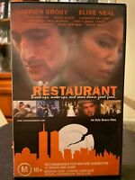 Restaurant  Ex-rental VHS video tape Adrien Brody HTF independent romance drama
