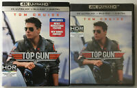 Top Gun (New Sealed 4K Ultra UHD+Blu-ray) W/Slipcover, See Pictures! Tom Cruise