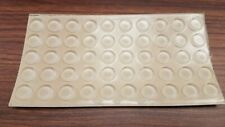 """Clear 100 pcs. Self-Adhesive Rubber Feet Round 0.5""""x 0.14"""" Bumpers/U.S seller"""