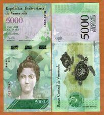 Venezuela, 5000 Bolivares, 23-3-2017, P-New,  D-Prefix, New design, UNC