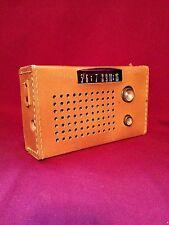 Vintage Transistor Radio Admiral 7 Transistor W/ Case Working Radio Model Y2319