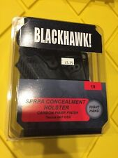 Taurus 24/7 OSS | BLACKHAWK Serpa Paddle Belt Carbon Fiber Holster RH 410019BK-R