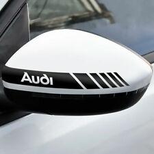 2x Rückspiegel Streifen Audi Autoaufkleber Decal Tuning Shocker Sticker
