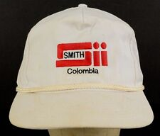 Sii Smith International Inc Colombia Drilling White Baseball Hat Cap Adjustable