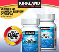 Kirkland Maximum Strength Acid Controller Famotidine 20mg 85 Tablets Each, 2pk
