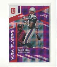 2017 Panini Unparalleled High Flyers Purple #9 Randy Moss Patriots /49