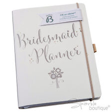 BRIDESMAID PLANNER -Wedding Journal/Organiser/Notebook/Planning Book-Lovely Gift