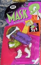 FIGURES VINTAGE 90 THE MASK ANIMATED MASKMAN DOG,CANE MILO POSSEDUTO,KENNER GIG