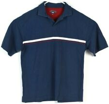 Duchamp 1981 Polo Mens Large T Shirt Casual Golf Tee Top L Striped Vgc