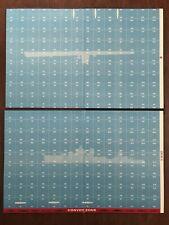 Board Game Parts, U-Boat, Mapboard, Avalon Hill, 1959