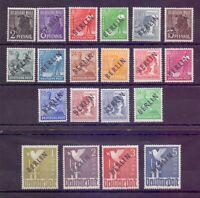 Berlin 1948 - Schwarzaufdruck MiNr 1/20 postfrisch geprüft Michel 380,00 € (018)