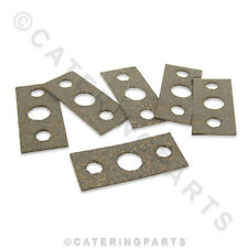 PACK OF 6 x CORK FIBRE GAS TAP / THERMOSTAT VALVE GASKETS / SEALS FOR OVEN RANGE