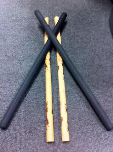Krakstorm Escrima Sticks Arnis FMA Eskrima Kali JKD + 2 Padded Sparring Sticks