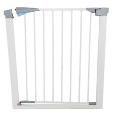 Baby Safety Gate Door Metal Walk Thru Pet Dog Cat Fence Child Toddler