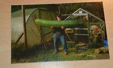 Jasper Fforde SIGNED Postcard Great Cucumberistas the World UK Book Promo NC20