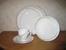 GUY DEGRENNE *NEW* Herbe Vert Set 3 Assiettes + 1 Tasse à café