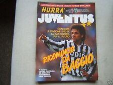 HURRA JUVENTUS=N°6 1991=ROBERTO BAGGIO= FASCICOLO ROMANZO FOTOGRAFICO JUVE