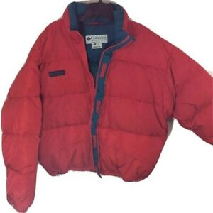 $210 NEW Vintage Columbia Mens 2XL Red Whirlibird II Parka Winter Puffer Coat