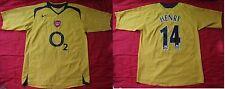 Thierry Henry #14 ARSENAL LONDON GUNNERS away Shirt  NIKE 2005-2006 adult SIZE L