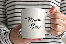 Mum Boss Mug/Cup - Perfect Mothers Day Gift - Hashtag Mummy Mom