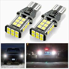 2X T15 Error Free 5W White 1600Lum 24SMD LED Bulbs For Car Backup Reverse Lights
