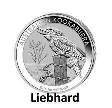 1$ Silber / Silver Australien / Australian Kookaburra 1 OZ 2016