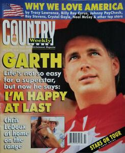 Country Weekly July 2 1996 Magazine - Garth Brooks - Chris LeDoux - NoML GD