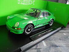 PORSCHE 911 Carrera RS 2.7 grün green 1973 Entenbürzel Welly 1:18