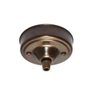 83mm Diameter Antique Solid Brass Cordgrip Ceiling Rose
