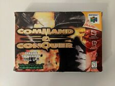 Command & Conquer Nintendo 64 N64 Cartridge with Original Box and Manual