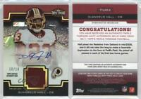 2011 Topps Triple Threads #TTUAR-8 DeAngelo Hall Washington Redskins Auto Card