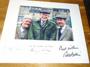Last Of The Summer Wine Genuine Signed Authentic Autographs - UACC / AFTAL