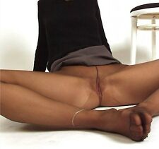 Calze collant usate colore CASTORO misura unica Work Tights. Pantyhose used