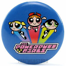 "The Powerpuff Girls Off To Save The Day 1.25"" Button ~ Officially Licensed ~ NEW"