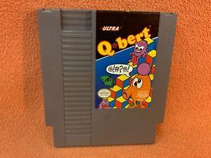 Q Bert QBert Nintendo NES Original Authentic Retro Classic Game!