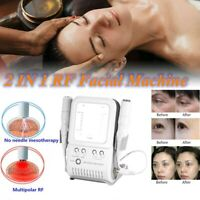 New Multipolar RF Radio Frequency Facial Machine Removal Wrinkle Anti-Aging AF