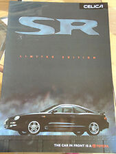 Toyota Celica SR Limited Edition brochure Jun 1998