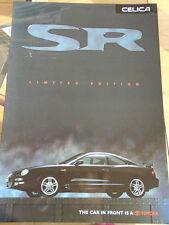 Toyota Celica SR Limited Edition brochure Jun 1998