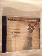 "JACKSON BROWNE CD NEW & SEALED ""These Days: a conversation with JACKSON BROWNE"""