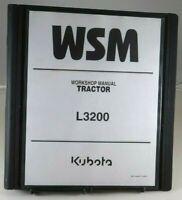 Kubota L3200 Tractor Service Workshop Shop Repair Manual