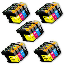 20PK Ink Cartridge Set + chip for Brother LC201 LC203XL MFC J680DW J880DW J885DW