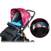 Universal Baby Stroller Cosy Toes Liner Buggy Padded Luxury Footmuff Warmer