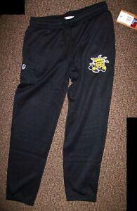 Wichita State SHOCKERS Sweat Pants THICK with sewn SHOCKERS Logo BLACK M L XL 2X