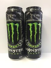 Monster Energy Drink Import 18.6oz Cans. Total 2 Cans Lot. Ships Worldwide