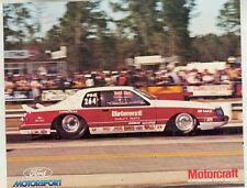 1983 Smith Jon Kaase Ford Thunderbird Motorcraft NHRA Drag Race Hero Card mx4598