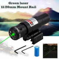 Pistola Punto vista láser verde para airsoft escopeta con juego CR2 baterías new
