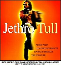 Jethro Tull A Very Best Greatest Hits Compilation RARE Folk Rock CD Ian Anderson